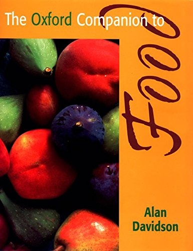 9780192115799: The Oxford Companion to Food