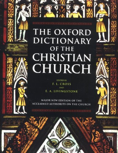 9780192116550: The Oxford Dictionary of the Christian Church