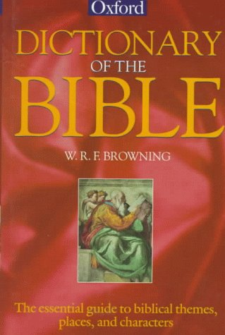 9780192116918: Dictionary of the Bible