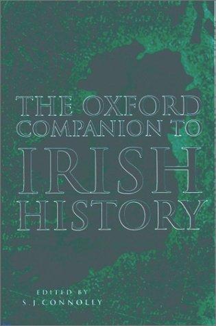 9780192116956: The Oxford Companion to Irish History