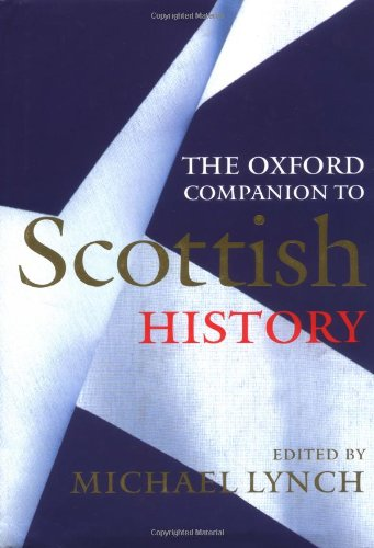9780192116963: The Oxford Companion to Scottish History