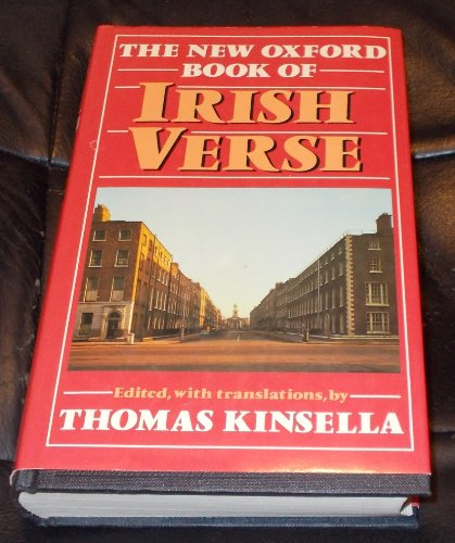 9780192118684: The New Oxford Book of Irish Verse