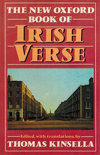 9780192118684: The New Oxford Book of Irish Verse (Oxford Books of Verse)