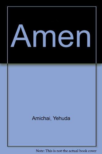 Amen: Yehuda Amichai