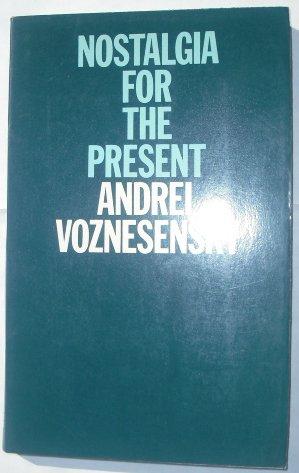 9780192119001: Nostalgia for the Present