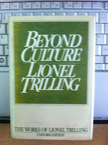 9780192122155: Beyond Culture