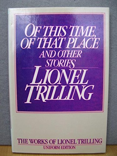 9780192122179: Of This Time, of That Place and Other Stories