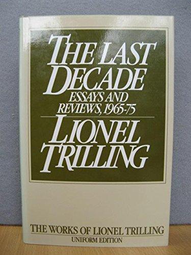 9780192122209: The Last Decade