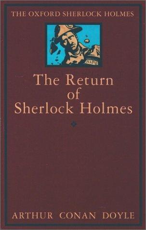 9780192123176: The Return of Sherlock Holmes (The Oxford Sherlock Holmes)
