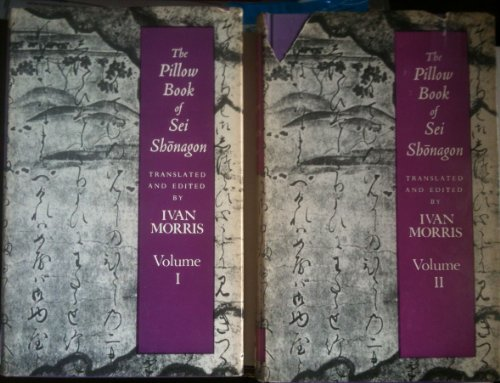 9780192125378: The Pillow-Book of Sei Shonagon (2 Volume Set)
