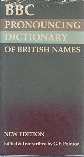 The BBC Pronouncing Dictionary of British Names