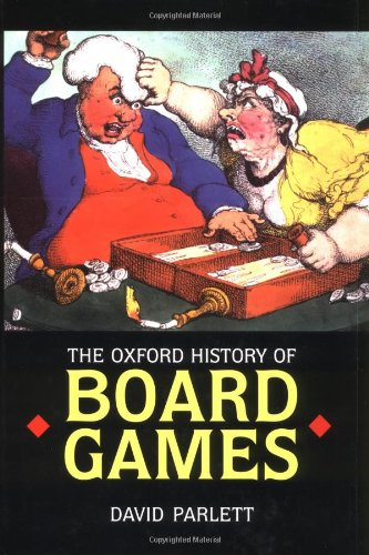 9780192129987: The Oxford History of Board Games