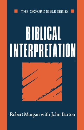 9780192132574: Biblical Interpretation (Oxford Bible Series)