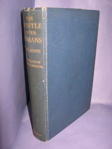 9780192135063: The Epistle to the Romans