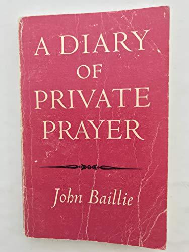 9780192139238: Diary of Private Prayer