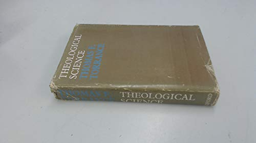 9780192139429: Theological Science