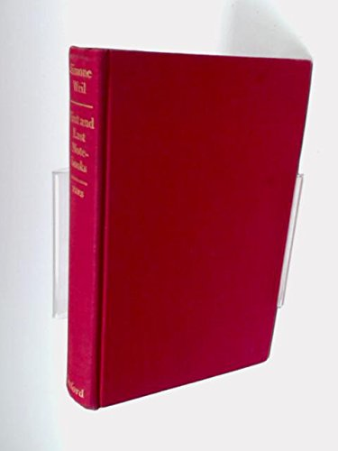 9780192139450: First and last notebooks