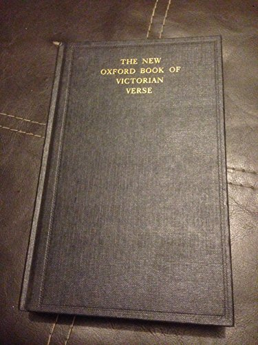 9780192141545: The New Oxford Book of Victorian Verse