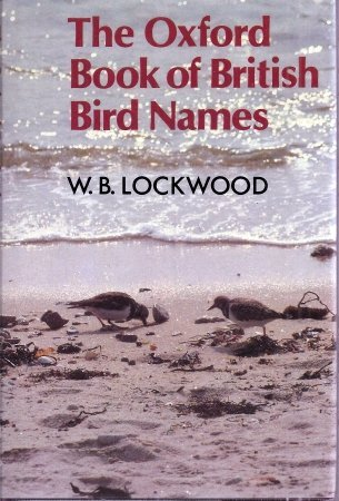 9780192141552: The Oxford Book of British Bird Names