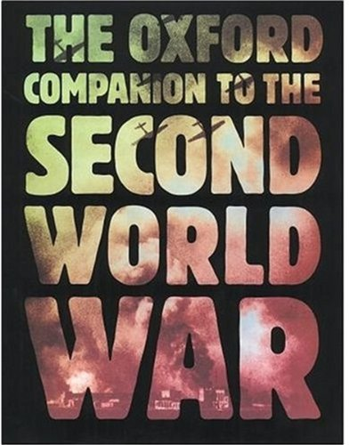 9780192141682: The Oxford Companion to the Second World War