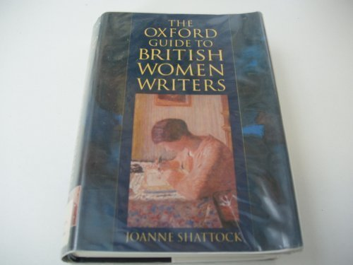 9780192141767: The Oxford Guide to British Women Writers