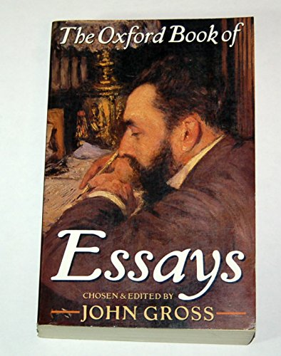The oxford book of essays