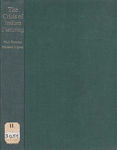 Crisis of Indian Planning: Economic Planning in: Paul Streeten and