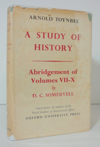 9780192152206: A Study of History