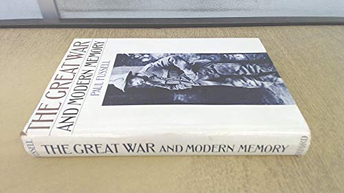 9780192158048: The Great War and Modern Memory