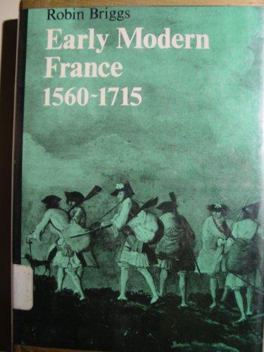 9780192158154: Early Modern France, 1560-1715