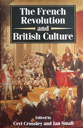 9780192158932: The French Revolution and British Culture