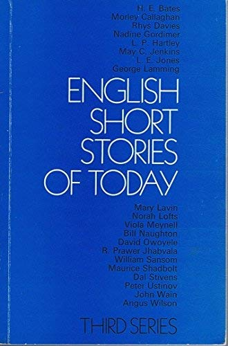 9780192174130: English Short Stories of Today: 3rd Series