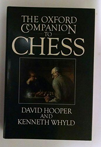 9780192175403: Oxford Companion to Chess