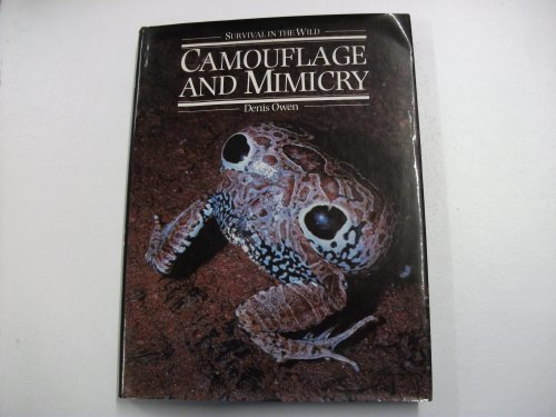 9780192176837: Camouflage and Mimicry (Survival in the wild)