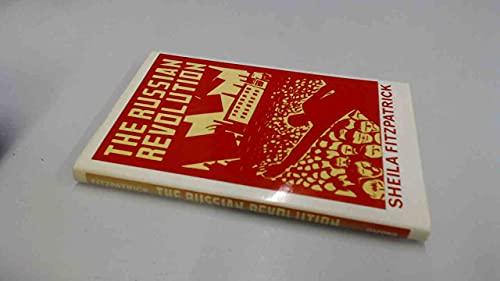 9780192191625: The Russian Revolution (Opus Books)