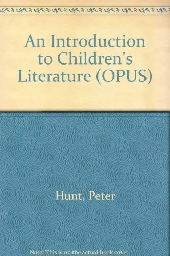 9780192192615: An Introduction to Children's Literature