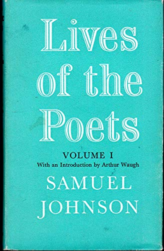 9780192500830: Lives of the English Poets (World's Classics)