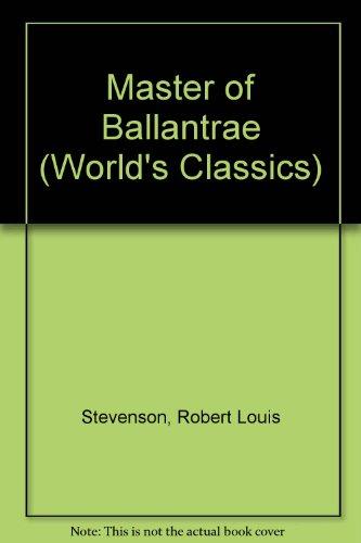 9780192504418: Master of Ballantrae