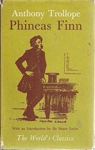 9780192504470: Phineas Finn (World's Classics)