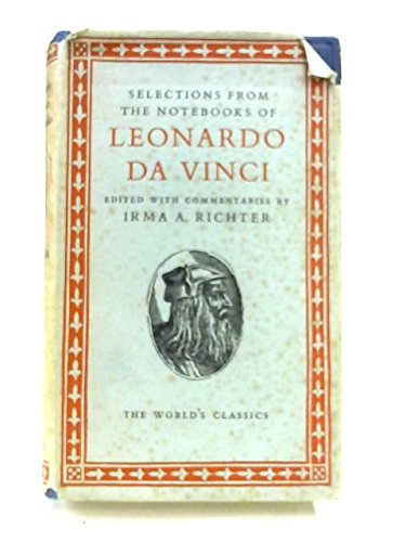 9780192505309: NOTEBOOKS OF LEONARDO DA VINCI