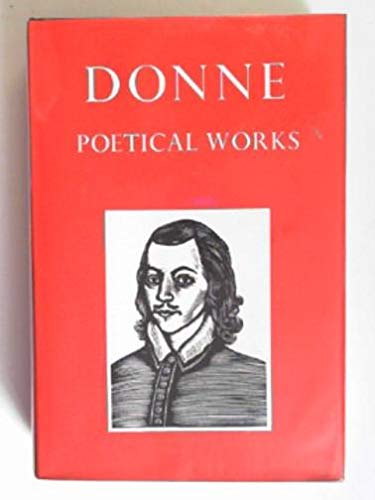 9780192541239: Donne: Poetical Works (Oxford Standard Authors)