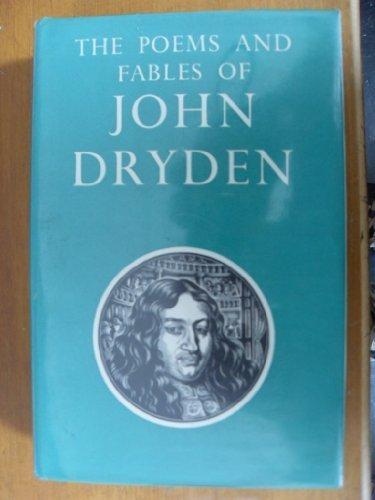 9780192541246: Poems and Fables of John Dryden (Oxford Standard Authors)