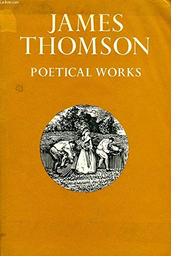 9780192541512: James Thomson: Poetical Works (Oxford Standard Authors)