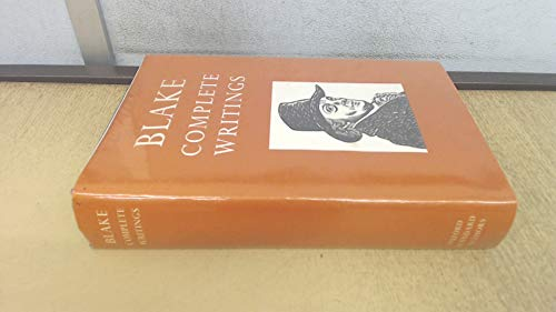 9780192541574: Blake: Complete Writings with Variant Reading