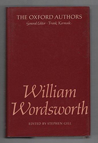 9780192541758: William Wordsworth (The Oxford Authors)