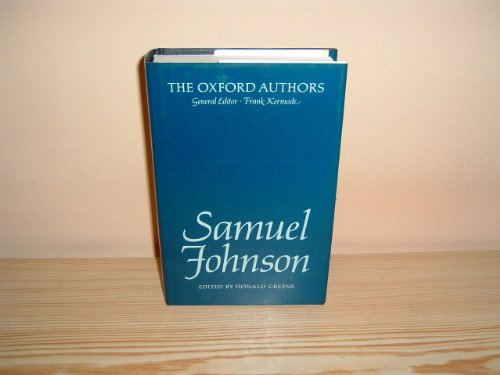 9780192541796: Samuel Johnson (The Oxford Authors)