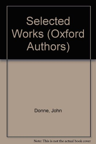 9780192541802: John Donne (The Oxford Authors)