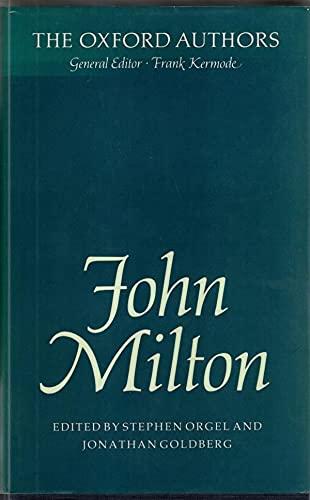 9780192541888: John Milton
