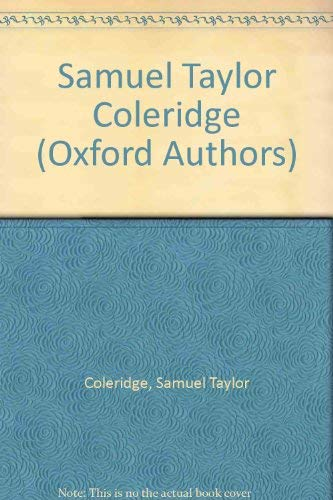 9780192541895: Samuel Taylor Coleridge (The Oxford Authors)