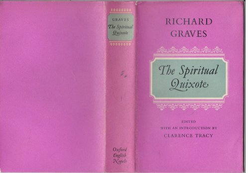 9780192553102: The Spiritual Quixote or the Summer's Ramble of Geoffry Wildgoose (A Comic Romance)